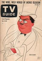 1962 TV Guide October 13 - Jackie Gleason; Captain Kangaroo; Merv Griffin; Shore