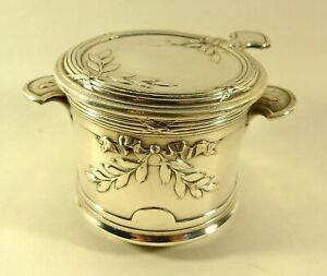 Antique Rare Gallia by Christofle Silverplated Tea Strainer