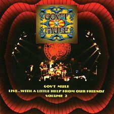 GOV'T MULE - LIVE WITH A LITTLE HELP FROUM OUR FRIENDS VOL.2   CD NEW!
