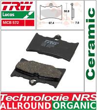 Plaquettes frein Arrière TRW MCB572 Organic KTM MX 125 250 350  Enduro 87->