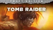 Shadow of the Tomb Raider Croft Edition STEAM PC READ DESCRIPTION 2018