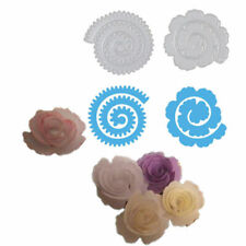 2Pcs/Set Rose Flower Roll Metal Cutting Dies Scrapbooking Embossing Card Crafts