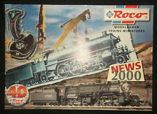 catalogue Roco - 2000 - train miniature - wagon locomotive modélisme
