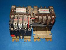 AO Smith /Clark T30U031 Reversing Starter Size 1 10 HP 27Amp & (3) 2453 Heater