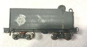 HOn3 1:87 brass 8 wheel coal tender painted used no box