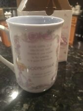Precious Moments Godmother Coffee Cup Enesco Personalized Mug