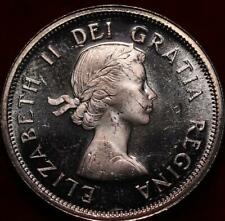 Uncirculated 1963 Canada Silver 25 Cents Foreign Coin