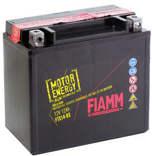 BATTERIA MOTO FIAMM FTX14-BS (ANALOGA YUASA YTX14-BS VARTA BOSCH EXIDE GS FB )