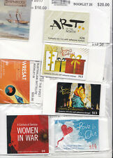 AUSTRALIA FV $375.00 MUH P&S BOOKLETS SEALED AP POSTAGE Parcels etc