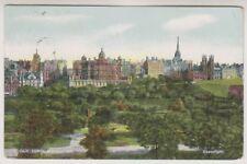Midlothian postcard - Old Town Edinburgh - P/U 1913