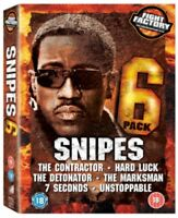 Wesley Snipes - 6 Confezione Collection DVD Nuovo DVD (CDRP9232N)