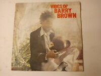 Barry Brown ‎– Vibes Of Barry Brown Vinyl LP 1981