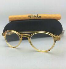 Readers EYE BOBS Eyeglasses BOARD STIFF 2147 77 +1.50 44-23 Orange Crystal Frame