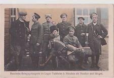 Russian Soldiers Prisoners of war. WWI Лагерь для Военнопленных. Германия.