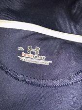 Under Armour Heat Gear Short Sleeve Blue Polo Shirt Mens Xl Excellent Condition