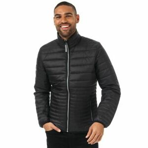 Men's Timberland Mount Eastman Stand up Collar Water Repellent Jacket in Black