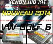 ★2014★ KIT XENON HID AMPOULE H7 VW GOLF 6 V6 TDI GTI R32 PACK TUNING CONVERSION