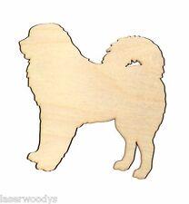 Tibetan Mastiff Dog Unfinished Wood Shape TM5652 Crafts Lindahl Woodcrafts