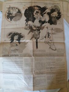 C1 Curiosa FIN DE SIECLE Journal Illustre 1897 631 NEUMONT Alphonse ALLAIS Roze
