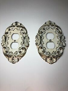 Vintage Outlet Covers Set Of 2
