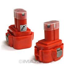 2 x 9.6V NI-CD Battery for Makita PA09 192595-8 192596-6 193977-7 638344-4-2