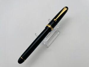 K3176 PILOT CUSTOM 74 Japan Fountain pen  Black 14K Gold 585   <M>