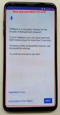 LG V30 Plus LS998 128GB Black Sprint LCD Flaw Mint Condition