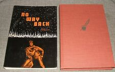 1968 First edition in Dust Jacket of No Way Back by Karl Zeigfried   Arcadia