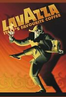"TARGA VINTAGE ""CAFFE' LAVAZZA"", PUBBLICITA, ADVERTISING, POSTER, PLATE,ART RETRO"