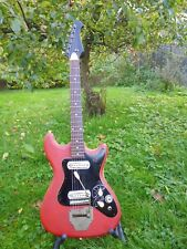 Klira Triumphator 60`s Red Vinyl Electric Guitar
