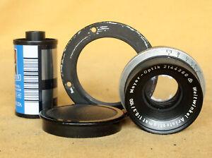 Meyer Optik Weitwinkel Anastigmat 100/6.3 wide angle large format lens MINT-