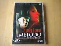 Murder Rooms Il metodo DVD Richardson Sherlock Holmes lingua italiano inglese