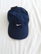 Nike Vintage Unisex Blue and White Cap -Dead Stock-