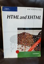 New Perspectives on HTML& XHTML Comprehensive Patrick Carey 2004, Paperback
