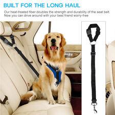 DOG Safety Seat Belt Car Adjustable Pet Harness Restraint Lead Travel Clip Lead
