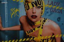 LADY GAGA - Autogrammkarte - Signed Autograph Autogramm Sammlung Clippings