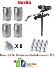 Kit per spillatura e confezionamento Birra alla spina Artigianale 20 lt  Coopers