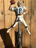 Peyton Manning TAP HANDLE Indianapolis Colts Beer Keg NFL Football White Jersey