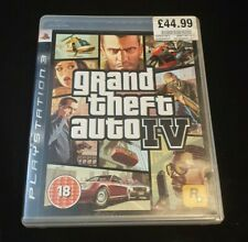 Grand Theft Auto IV (PlayStation 3, 2008) PS3 game - C