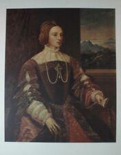 Tizian Isabella von Portugal Kunstdruck G-5425