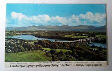 Llanfairpwllgwyngyllgogerychwyrndrobwll Menai Strait Wales Dennis Postcard