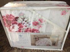 Rachel Ashwell Simply Shabby Chic Full Queen F/Q Duvet Cover Set Pink Rose White