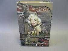 Vintage Livre avec boîte boîte à Cadeau Boîte à bijoux 27 cm x 18 cm