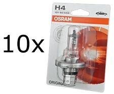 10x OSRAM H4 ORIGINAL Spare Part Bilux 60/55W P43t 1st. Blister 64193-01B