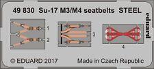 Eduard 1/48 Sukhoi Su-17M3/M4 Seatbelts STEEL # 49830