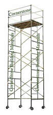 "SAFERSTACK Complete 3-Section 20'8"" High Scaffold rolling tower 5X7X20-8SL CBM"