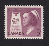 1958 = NURSE, HEALTH = VF MNH #380 Canada q08