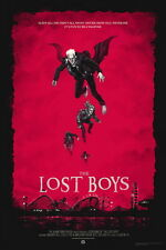 "007 The Lost Boys - 1987 American Horror Film Movie 24""x36"" Poster"