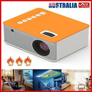 2021 New Mini Pocket LED Home Cinema Projector HD Portable Cinema HDMI USB