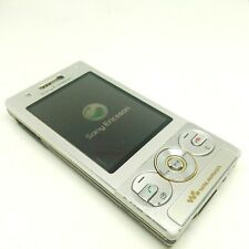 Sony Ericsson Walkman W705 - Luxury silver (Unlocked) Cellular 3G Mobile Phone